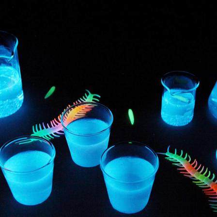 Glow In The Dark Jello Shots