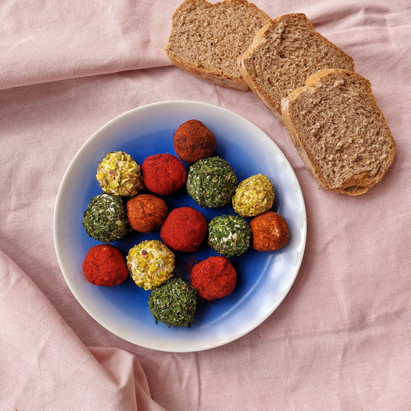 Kaleidoscopic labneh balls.jpeg