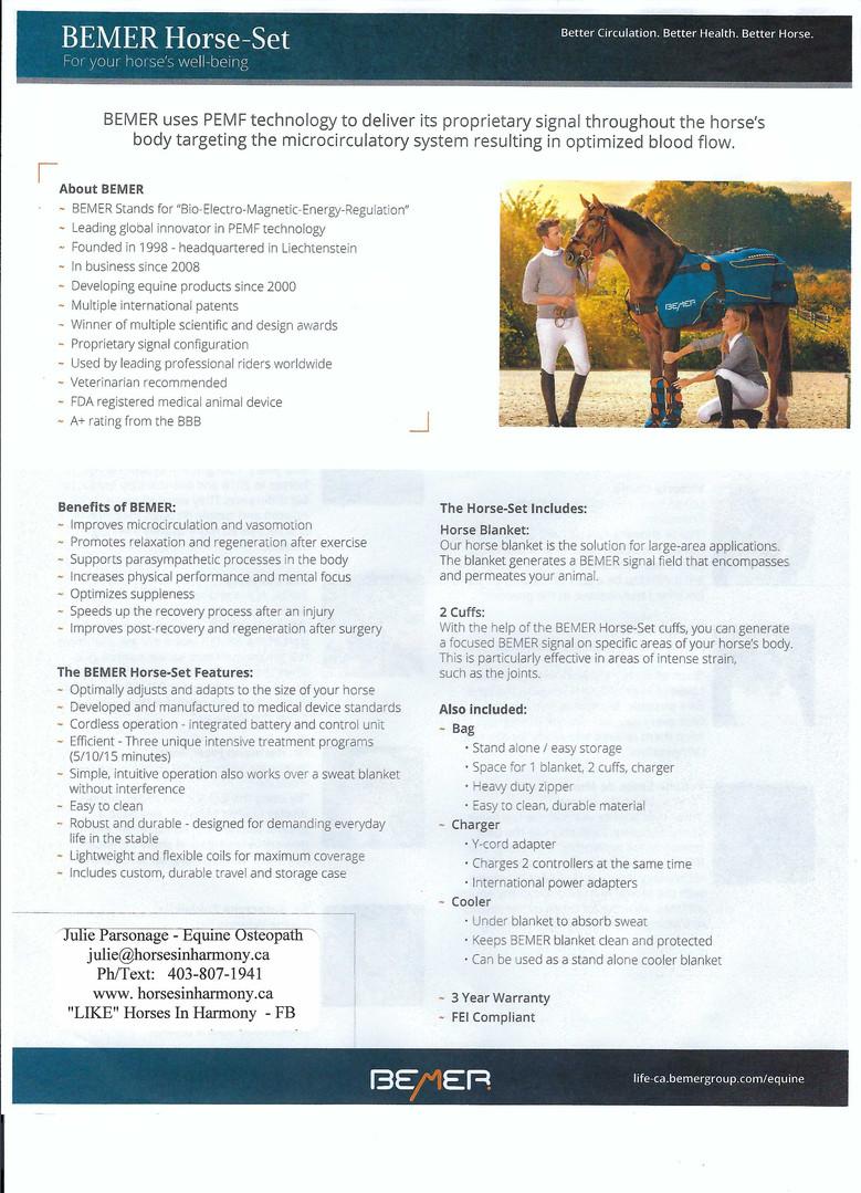 Horse Fact Sheet