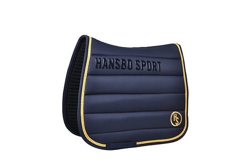 HS Infused Ceramic Saddle Pad - Dressage