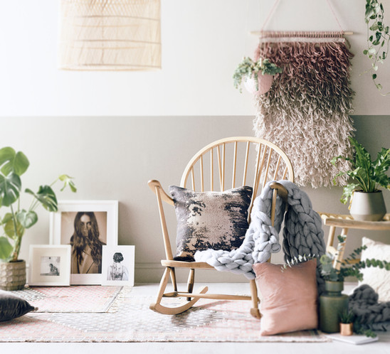 Scandi living | Soft muted colour palette