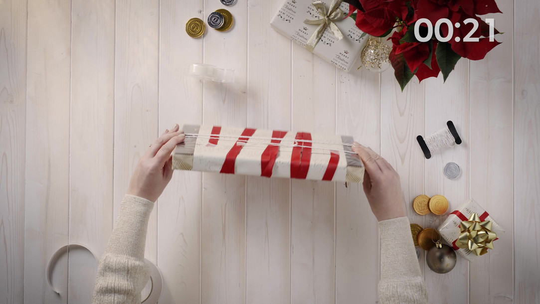 Marks & Spencer | Christmas Gifts | Christmas gift wrap hacks