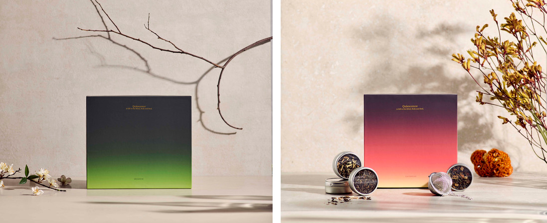 Packaging | Art Direction | Tea |   Tranquil & Calm