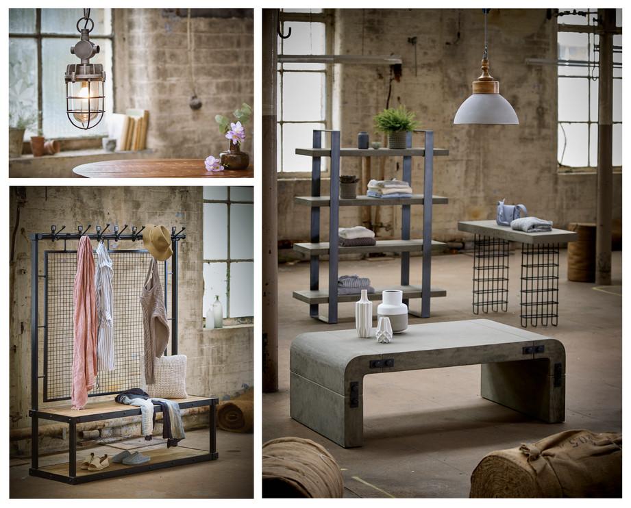 Industrial Interiors | Furniture & Lighting | Display furniture