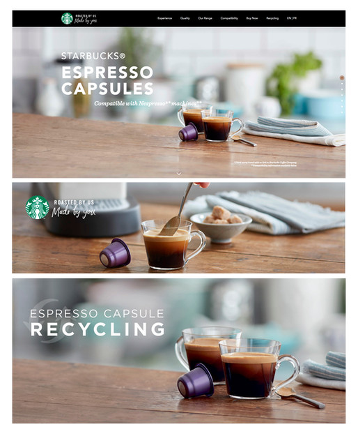 Espresso capsules | Set Props | Starbucks Coffee
