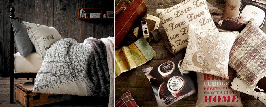 Bedding & Cushions | Vintage props | Lifestyle | Lookbook