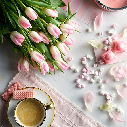 Morning Coffee | Tulips | Mothers Day