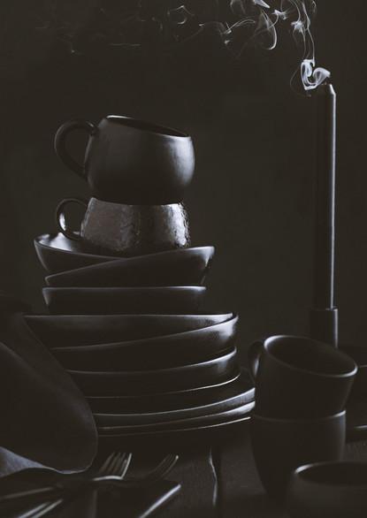 Style it Dark | Black Ceramics | Props