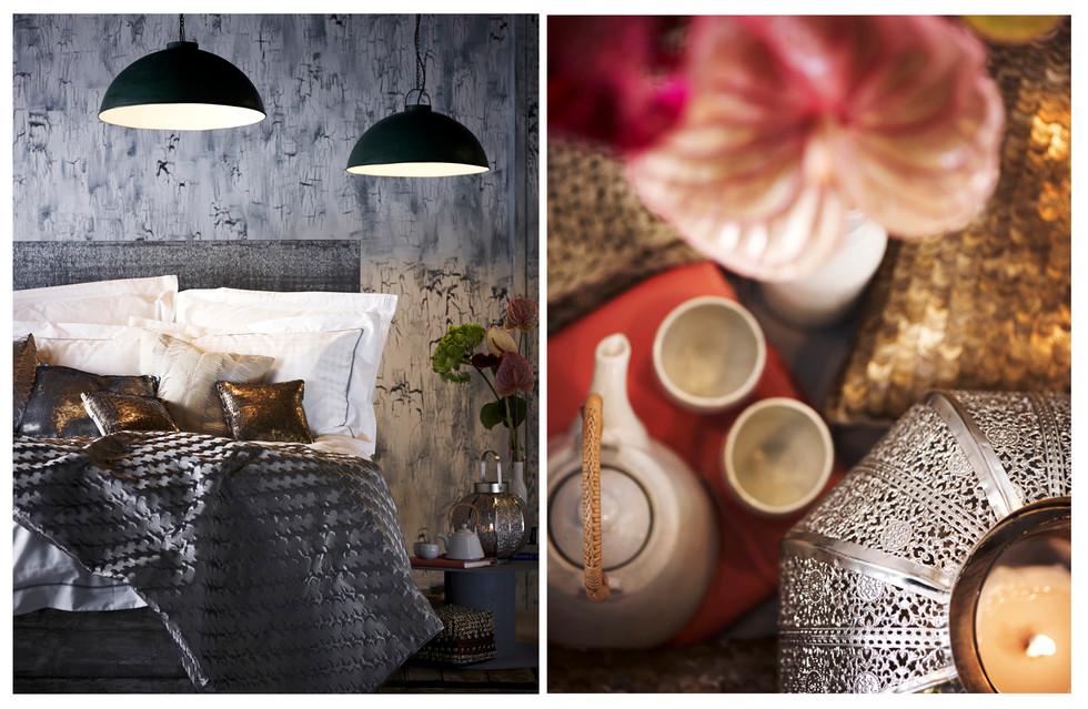 Lux bedroom Living | Morrocan Trend | Editorial
