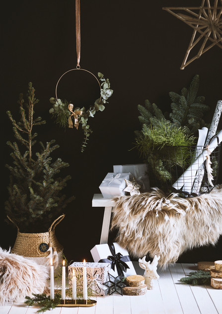 Christmas Styling | Monochrome Trend | Style it dark | Nordic style | Editorial