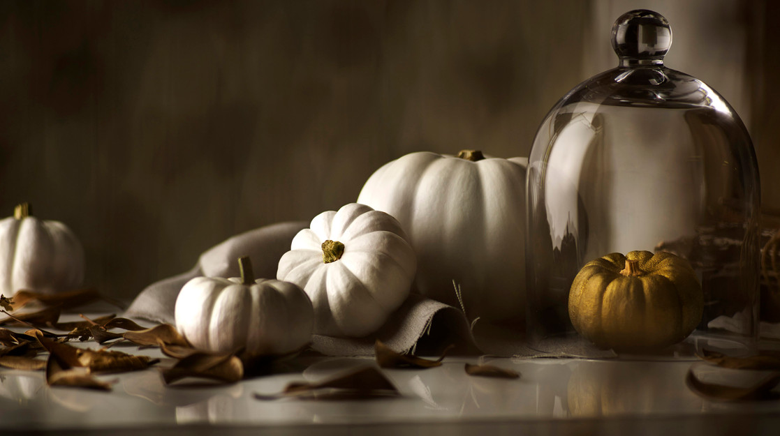 Autumnal Style | White Pumpkins