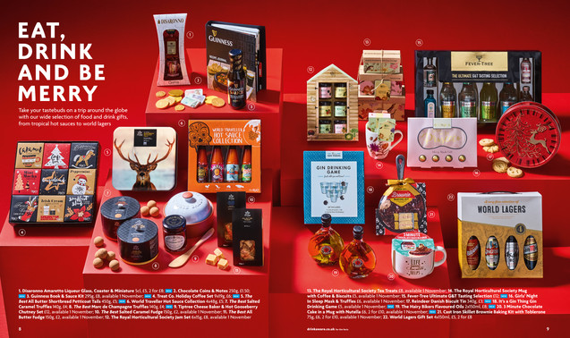 Christmas Food & Drink | Gift Guide