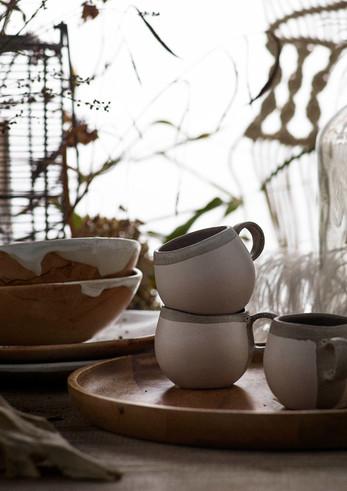 Handmade Ceramics| Texture & Tone | Natural Styling