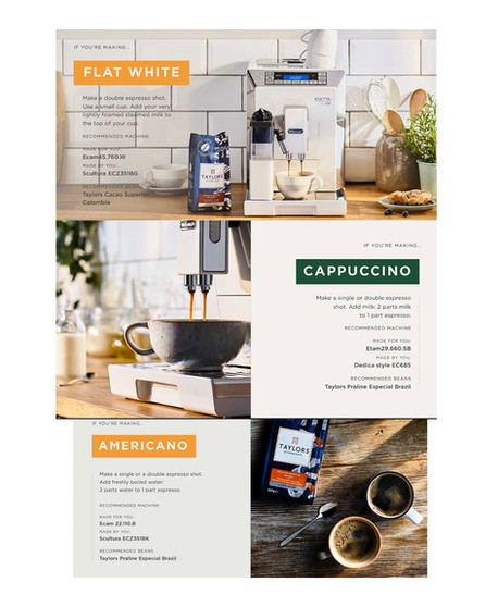 Coffee Time | How do you have yours | Cappuccino | Delongi | Taylors | Kitchen Style
