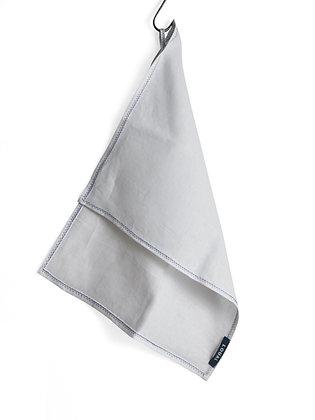 IRISH LINEN HAND + TEA TOWEL - WHITE
