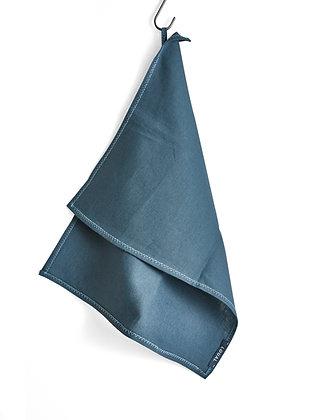 IRISH LINEN HAND + TEA TOWEL - HOLM BLUE