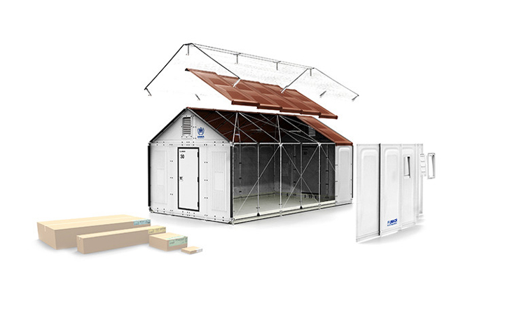 Ikea - buildable housing concept