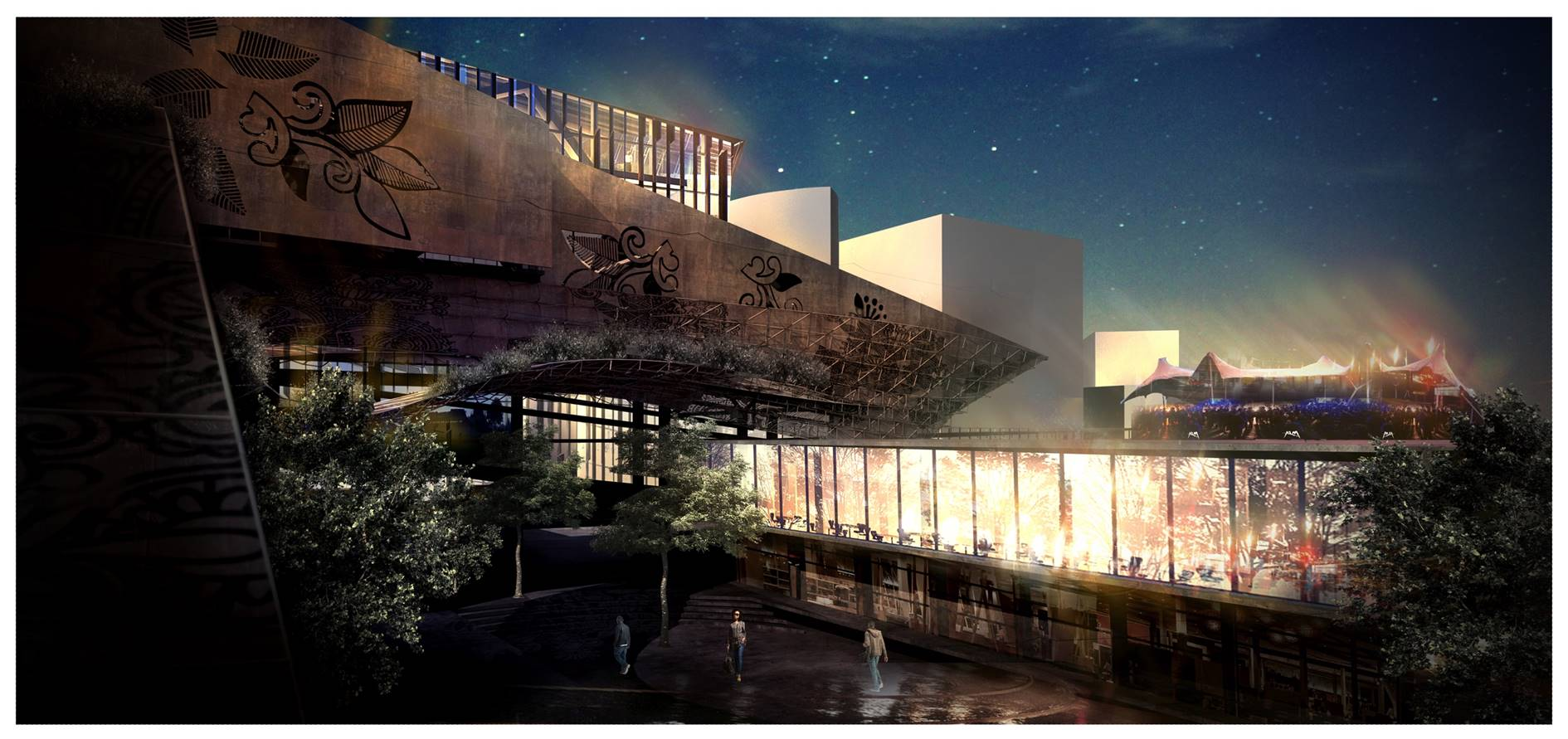 Concept 4 for the Arts, Culture & Food facility by Zakeeya Kalla