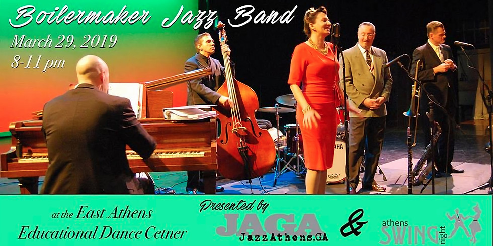 Swing Dance & Concert featuring The Boilermaker Jazz Band