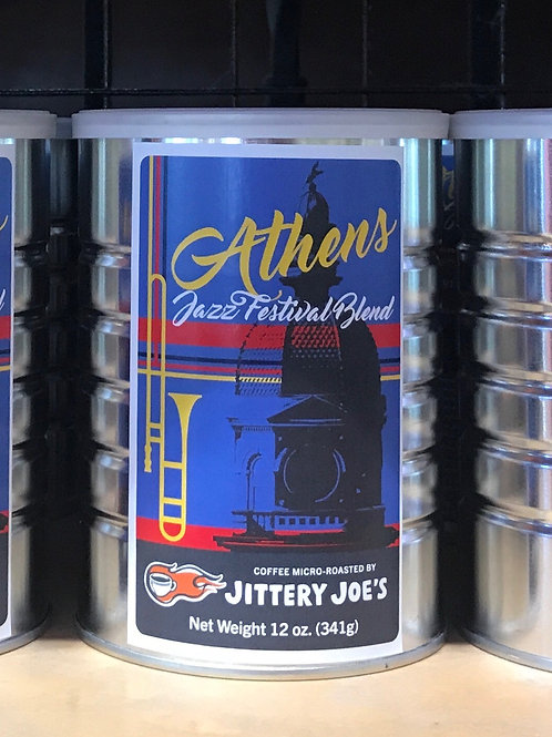 Jittery Joes Coffee: Athens Jazz Festival Blend
