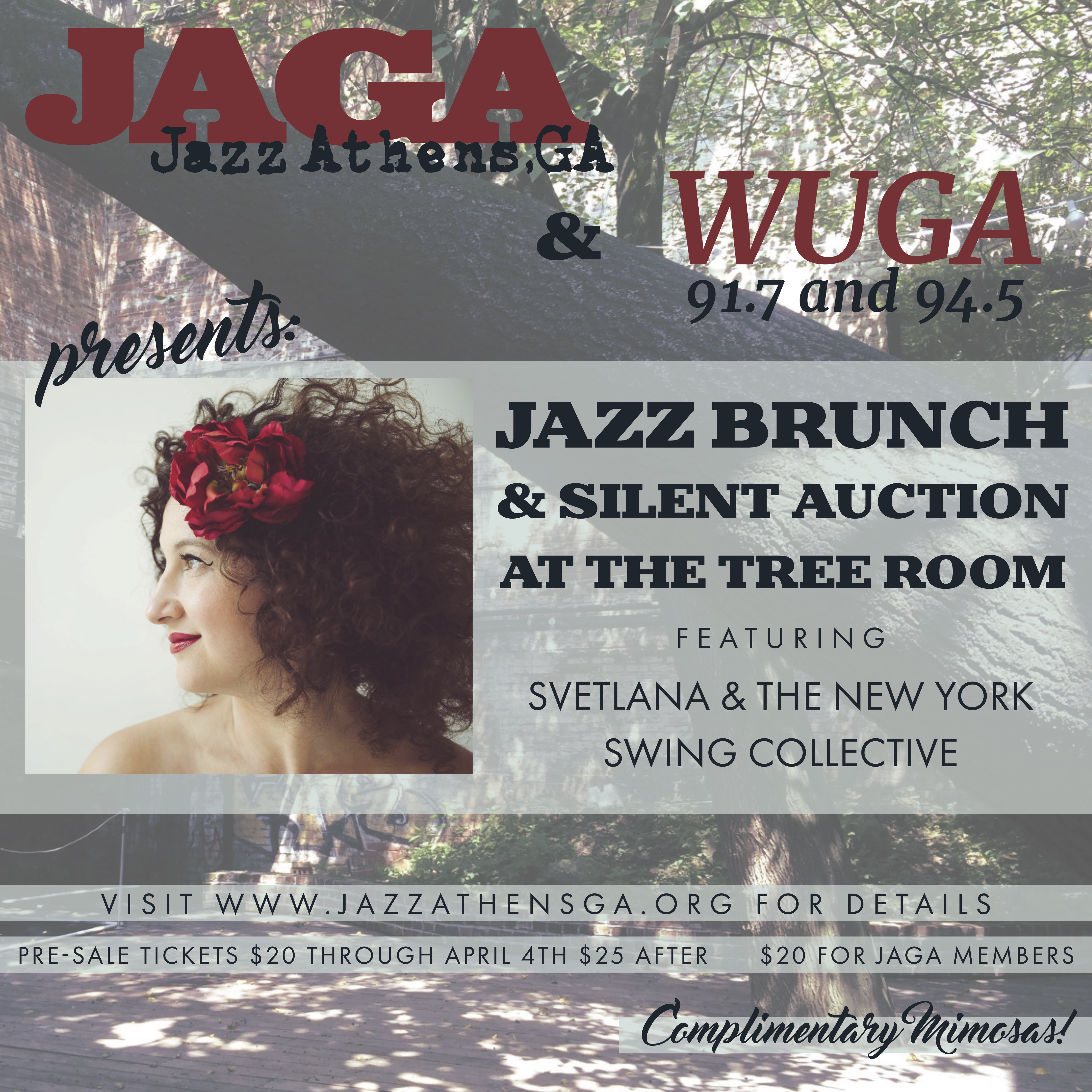 Jazz Brunch and Silent Auction at The Tree Room