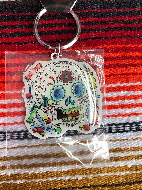 Día de Los Muertos Key chain