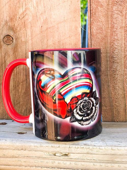 Dripping Serape mug