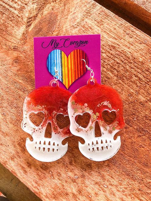 Calavera earrings