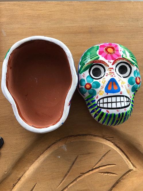 Ceramic Hand Painted Jewlery Boxes