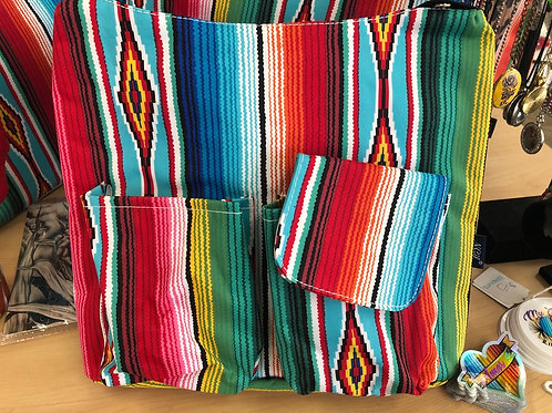 Sarape Two Pouch Purse