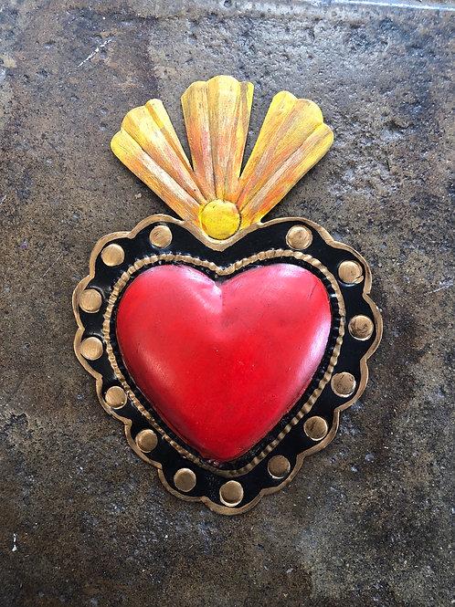 Metal Sagrado corazon