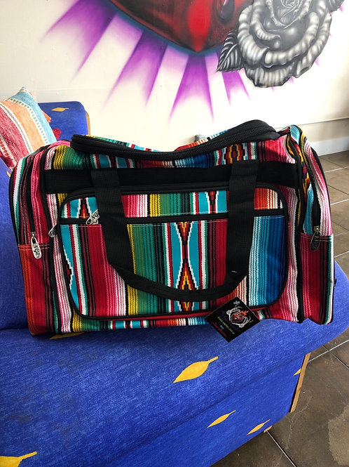 Large serape duffle Bag