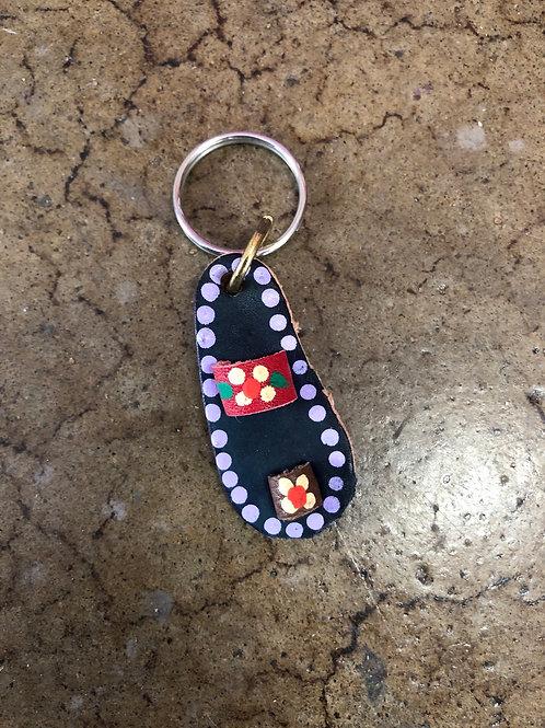 Huarache Key Chain