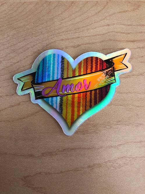 Amor Sticker