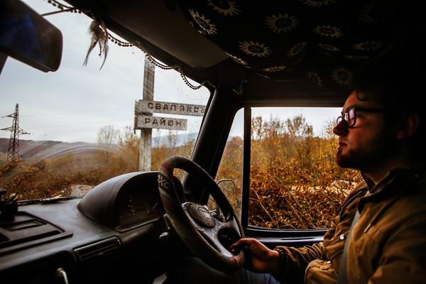 A journey through Ukraine in a motorhome.