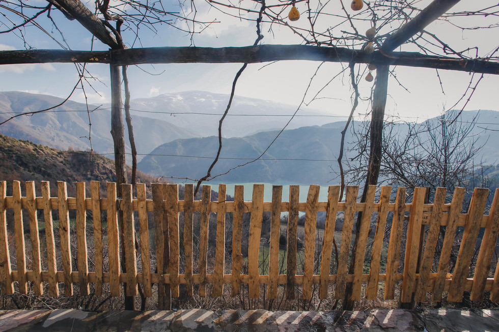 View over Lake Koman in the Albanian Alps - From Rust To Roadtrip