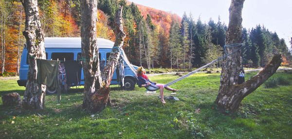 Wild Camping Romania nature and wildnerness