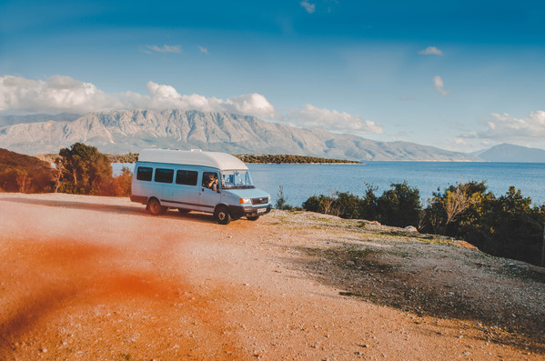 LDV Convoy Campervan Vanlife in Greece