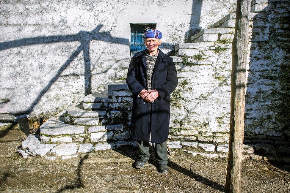Documentary project, resident in a remote region in the Albanian Alps