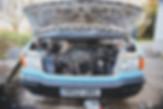 LDV Convoy camper van engine