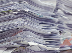 Piles of Paper