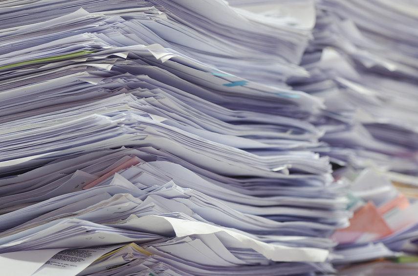 Piles of Paper