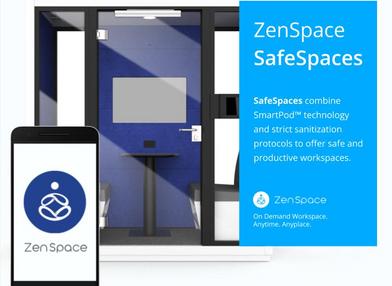 ZenSpace and Hyatt Regency Santa Clara partner to launch SafeSpaces COVID 19 workspace solutions