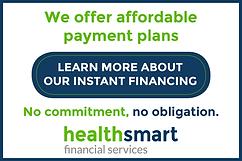 Health Smart financial services button