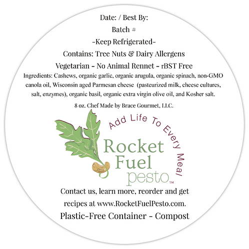 Rocket Fuel Pesto to Your Porch Delivery (Essex County) - May