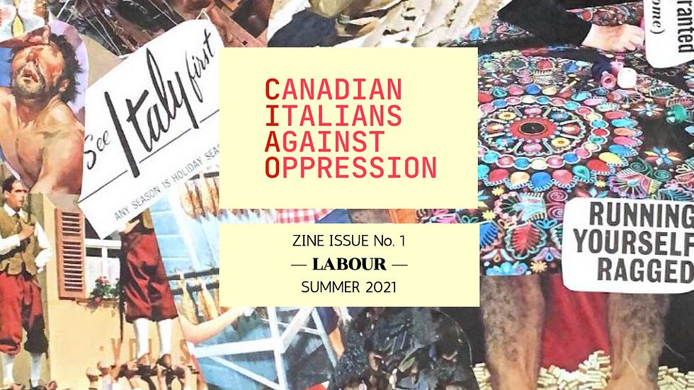 """Zine Issue no.1: """"Labour"""""""