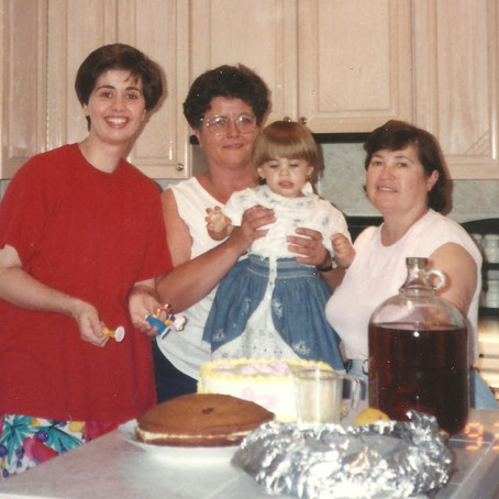 Recipes I Learned Over the Phone, Part 1: Nonna Lucia's Italian Birthday Cake