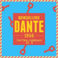 Cartes-Cadeaux de 25 $ de Quincaillerie Dante