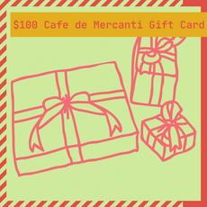 $100 Cafe de' Mercanti Gift Card