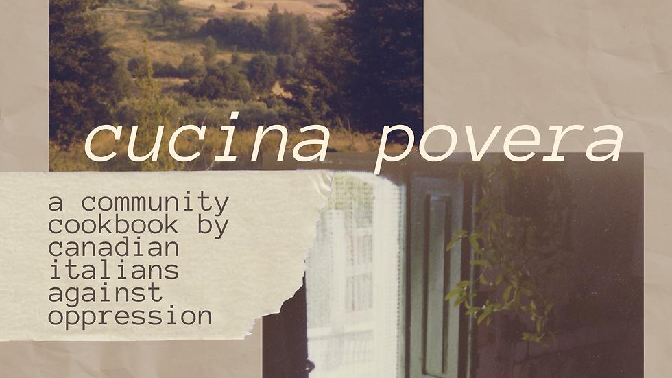 Cucina Povera: C.I.A.O. Digital Cookbook / Livre de recettes numérique